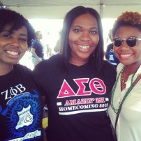 Zeta, DST, AKA - MY College LOVES: Rhiana & Andrea