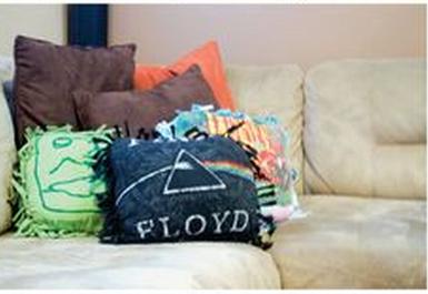 tshirt pillows