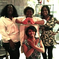 DST & Zeta: My YES PREP Family - Ms.Charles, Antwonette, Ms. Dymesha