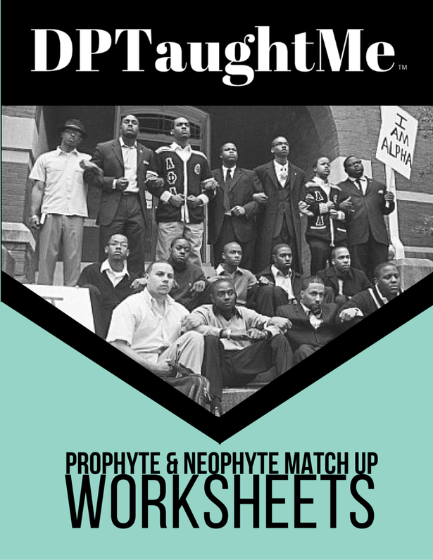 DPTaughtMe Greek Life Mentor and Leadership Match Up Worksheet for Greek Life, Sorority and Fraternity Mentoship Matching at the Beginning of the College Semester (NPHC, Divine Nine and Multicultural Greek Life Organizations)